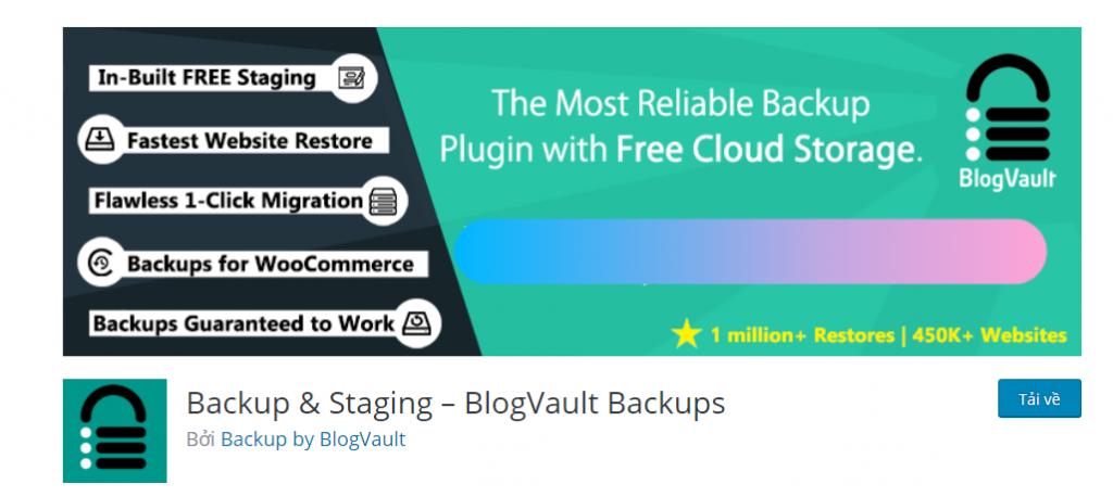 Backup Staging – BlogVault Backups