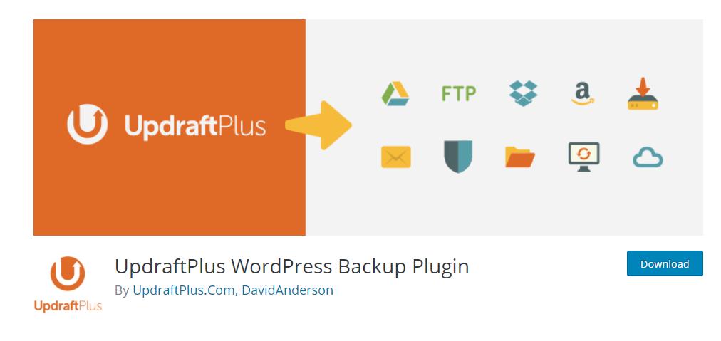 UpdraftPlus – Plugins backup cho WordPress