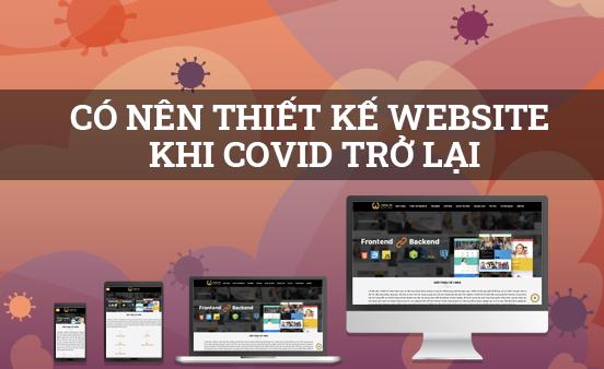 Thiết kế web bán hàng – Cơ hội giúp bạn tồn tại qua đại dịch