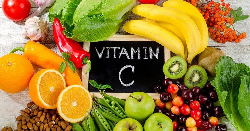 Chăm sóc da màu đông bằng cách bổ sung vitamin C
